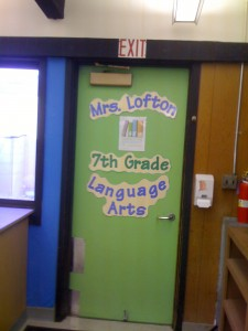 Our class door